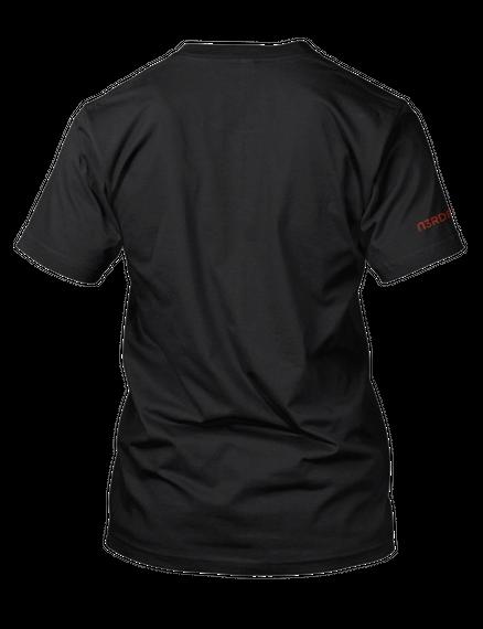 I Survived Horror Month! Official Tee Black áo T-Shirt Back