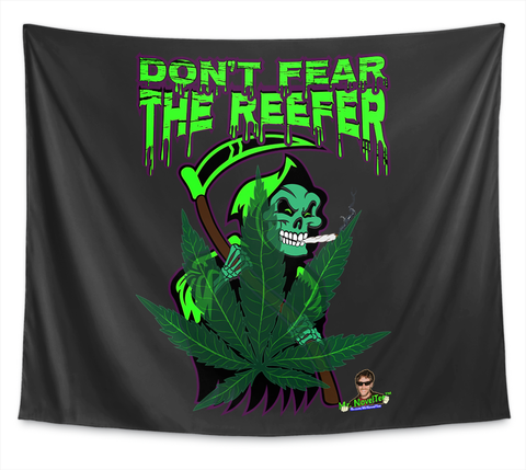 Don T Fear The Reefer Pot Leaf Standard T-Shirt Front