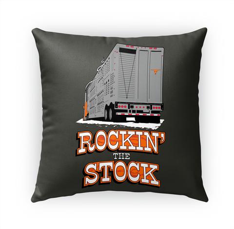 Bull Hauler Rockin' Stock Pillow White T-Shirt Front