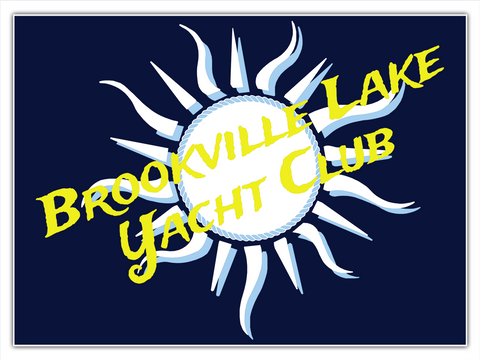 Brookville Yacht Club Poster Standard Camiseta Front