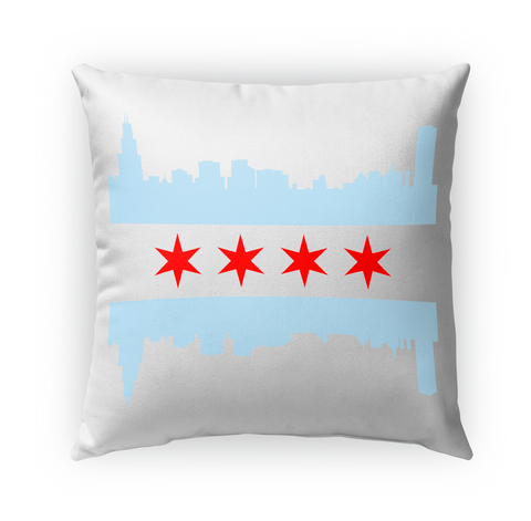 Chicago Flag Skyline Standard T-Shirt Front