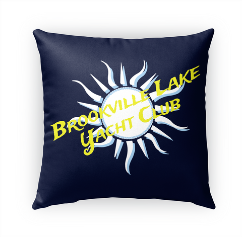 Brookville Yacht Club Pillow Standard T-Shirt Front