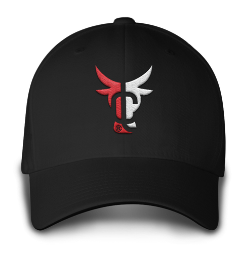Cattle Life Hat Black/White Mũ Front