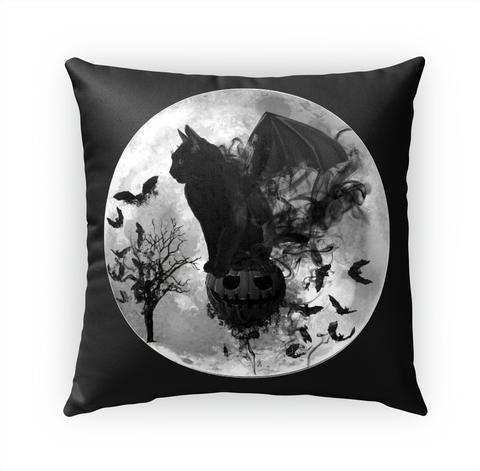 """Halloween""   Amber's Designs™   Pillows Standard Camiseta Front"