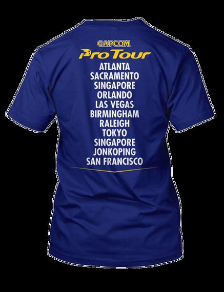 Capcom Pro Tour Circuit Tee