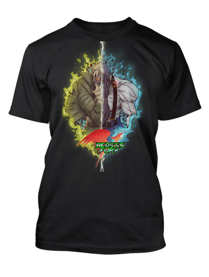 Placeholder Black T-Shirt Front