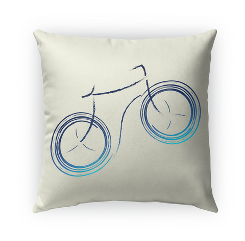 Riderless Bike Indoor Pillow Standard T-Shirt Front