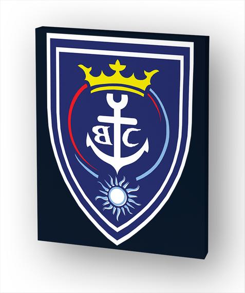 Brookville Yacht Club Canvas Standard T-Shirt Front