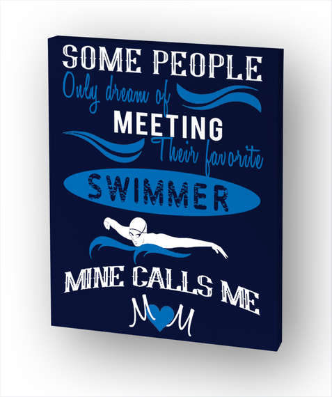 Swimmer's Mom Standard T-Shirt Front