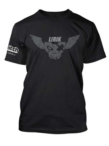 Dat Guy Lirik Black T-Shirt Front
