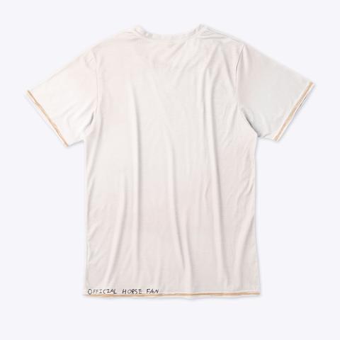 Official Horse Fan Tee Standard T-Shirt Back