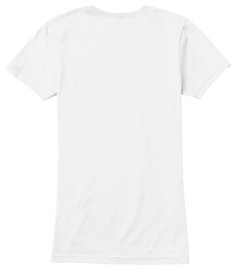 Hey Claire Finger Gunz X Po P Tee White Women's T-Shirt Back