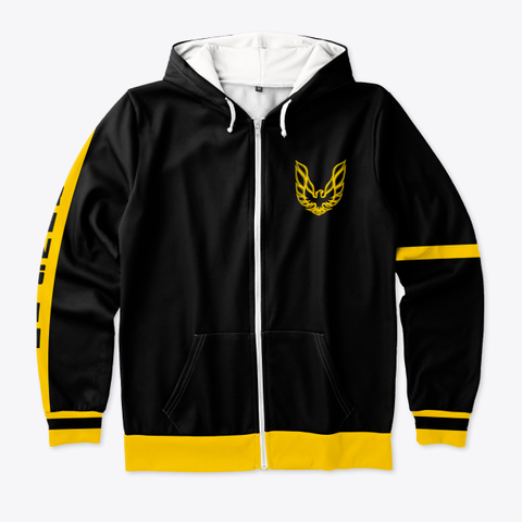 Trans Am Driver Zip Hoodie  Style 1 Standard T-Shirt Front