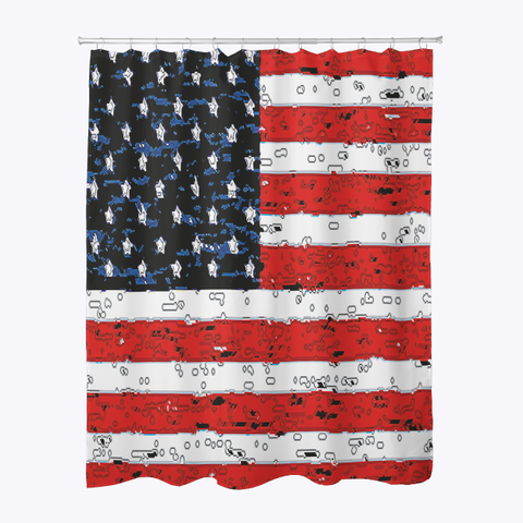 fd4ece0cb Usa Made Shower Curtain Products from Your 4th of July SHOP | Teespring