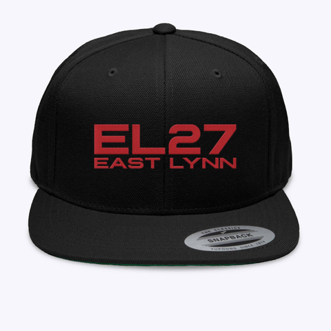 El27 East Lynn The Classics Snapback Yupgong Since 1916 Black T-Shirt Front