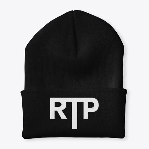 Rtp Black T-Shirt Front