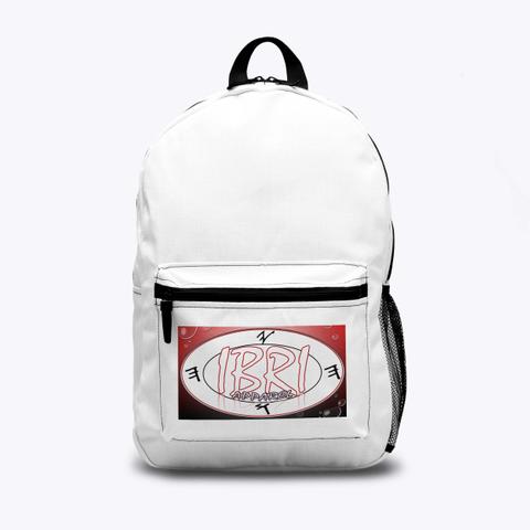 Ibri Apparel Backpack W/Creators Name  Standard T-Shirt Front