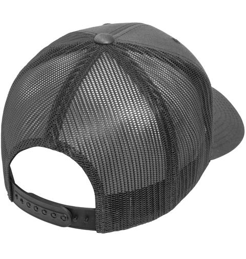 Police Logo Heat Transfer Hat Black T-Shirt Back