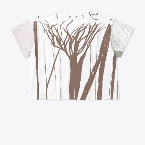 Rose Forest Crop Standard T-Shirt Back