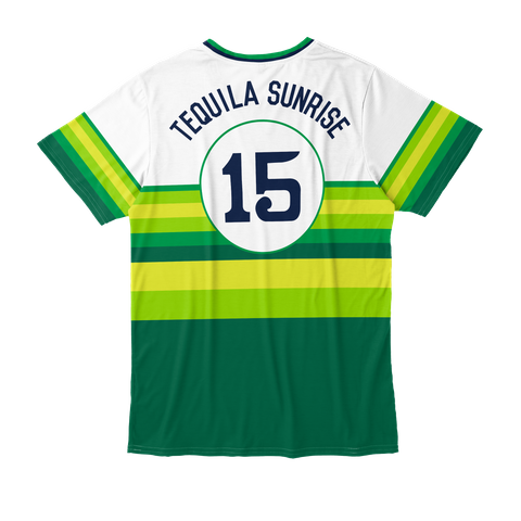 Tequila Sunrise 15 Standard T-Shirt Back