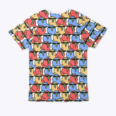 :Partyparrot: Standard T-Shirt Back