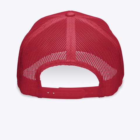 R.E.D Friday Embroidered Hat Red Camiseta Back