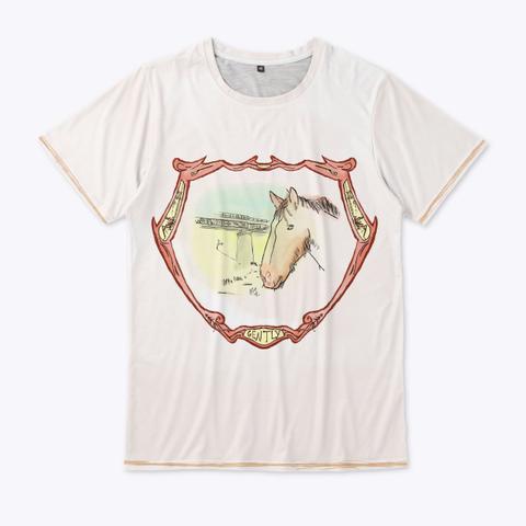 Official Horse Fan Tee Standard T-Shirt Front