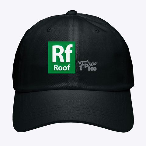 Rf Roof Frisco Mo Black Hat Front