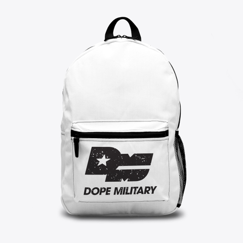 Dope Military Backpack Standard T-Shirt Front