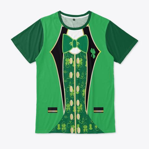 St.Patrick's Day Tuxedo T Shirt Shamrock Standard T-Shirt Front