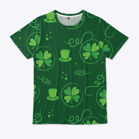 St. Patrick's Day T Shirt Standard T-Shirt Front