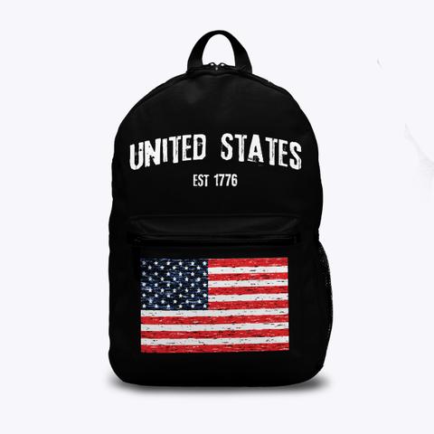 United States Est 1776 Standard T-Shirt Front