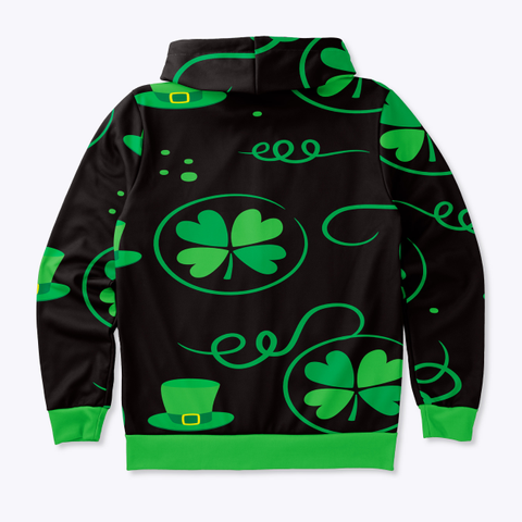 St. Patrick's Day Hoodie Standard T-Shirt Back