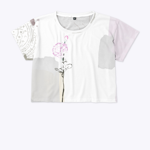 Rose Forest Crop Standard T-Shirt Front