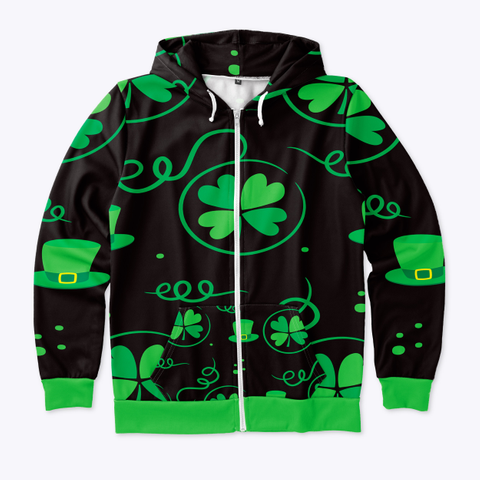 St. Patrick's Day Hoodie Standard T-Shirt Front