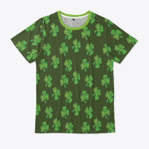 St. Patrick's Day T Shirt Standard T-Shirt Front