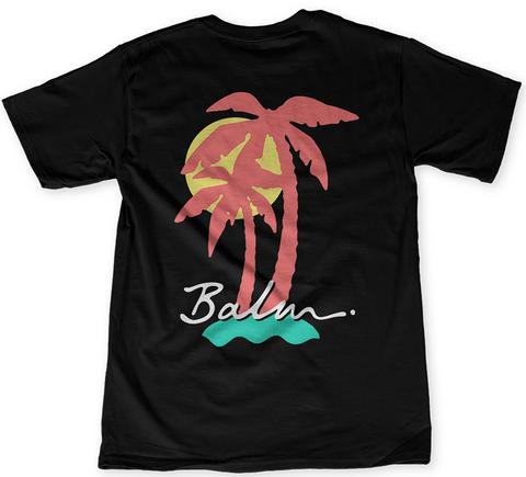 Balm Black T-Shirt Back