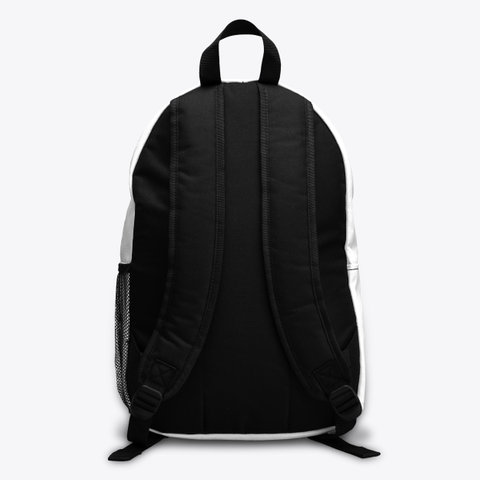 Female Ibri Apparel Backpack Standard T-Shirt Back