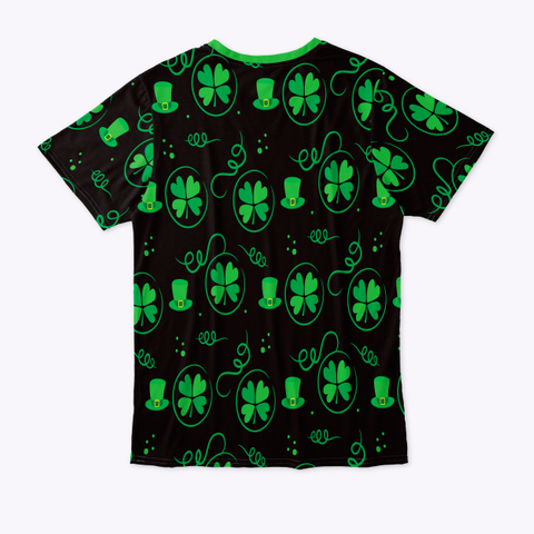 St. Patrick's Day T Shirt Standard T-Shirt Back