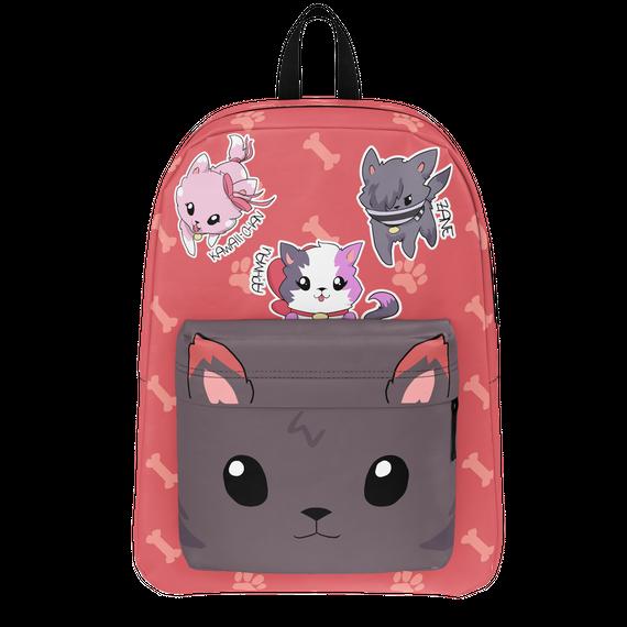 951dacf7223 Aphmau® Wolf Pup Backpack - kawaichan aahmau zane Products   Teespring
