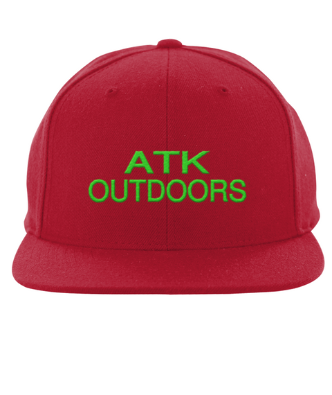 Atk Outdoors Red T-Shirt Front