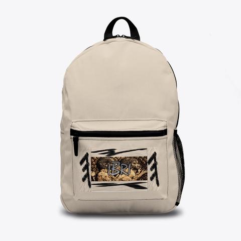 Ibri Apparel Israelite Image Backpack Standard T-Shirt Front