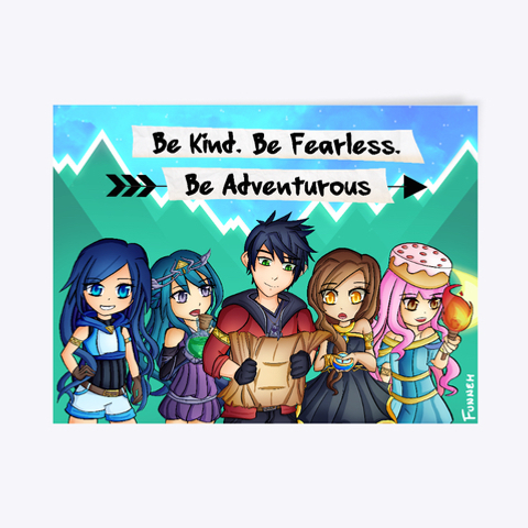 8107fe6c72 Adventure Poster Products from ItsFunneh | Teespring