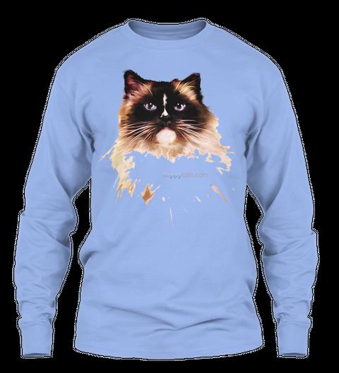 Hoppycats.Com  Light Blue T-Shirt Front
