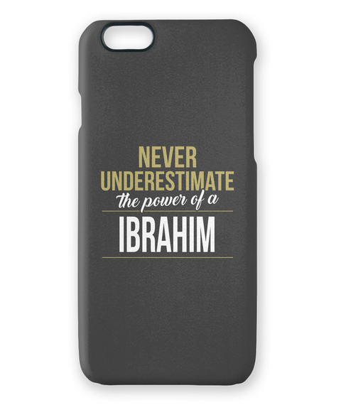 Ibrahim It's Ibrahim Time! Enjoy! White T-Shirt Front