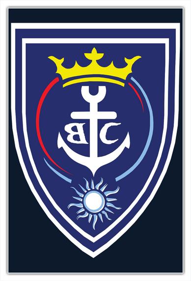Brookville Yacht Club Poster Standard T-Shirt Front