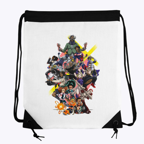 The Boondocks Academia Drawstring Bag Standard T-Shirt Front