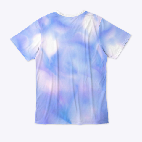 """Puff"" All Over Print Tee Standard T-Shirt Back"