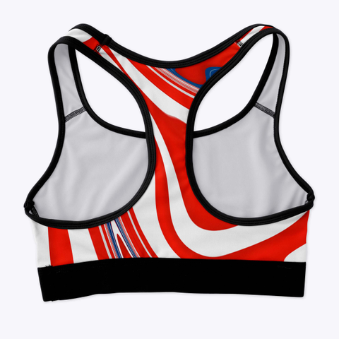 Red White Blue Patriotic Standard T-Shirt Back