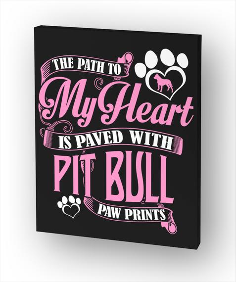 Paw Prints Canvas  Standard T-Shirt Front